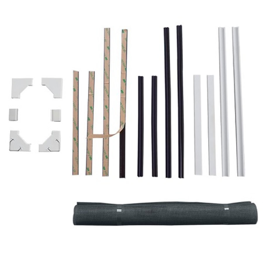 Warren cheap diy insect screen kit with magnet