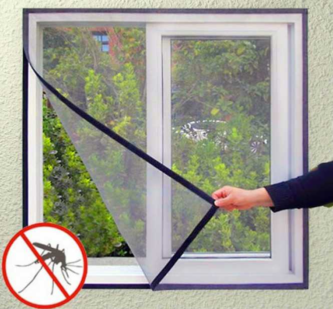 Hook & Loop - Adjustable Window Screens
